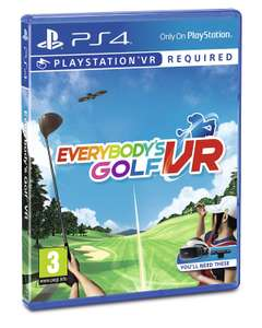 Everybody's Golf VR (PS4/PSVR) £11.99 @ Argos (Free Collection)