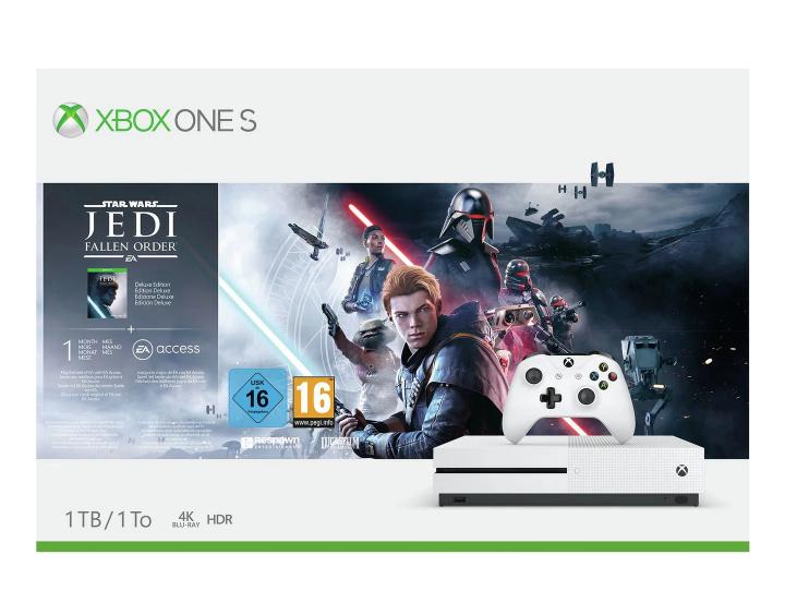 Xbox One S 1TB Console & Star Wars Jedi: Fallen Order Bundle - £179.99 @ Argos (Free Collection)