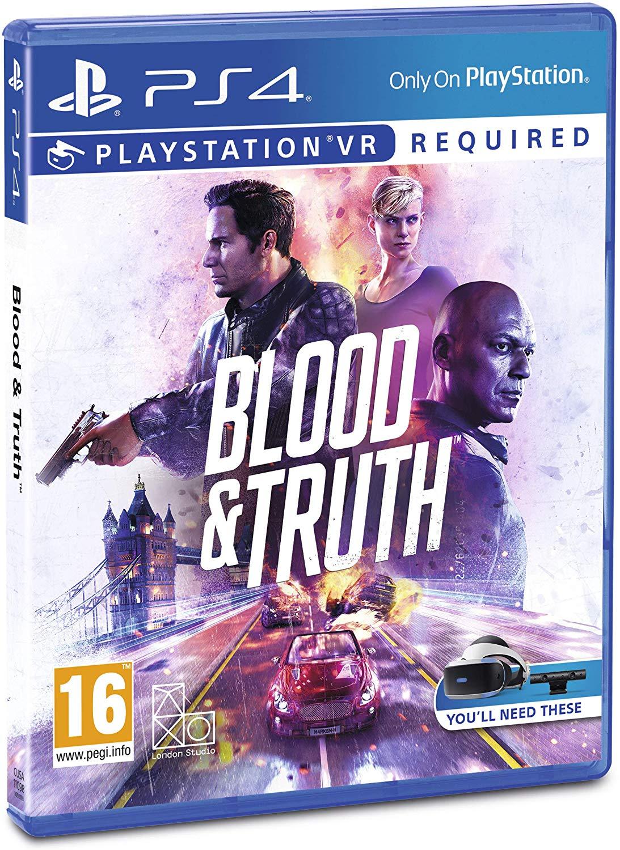 Blood & Truth PSVR £15.99 + £2.99 NP @ Amazon