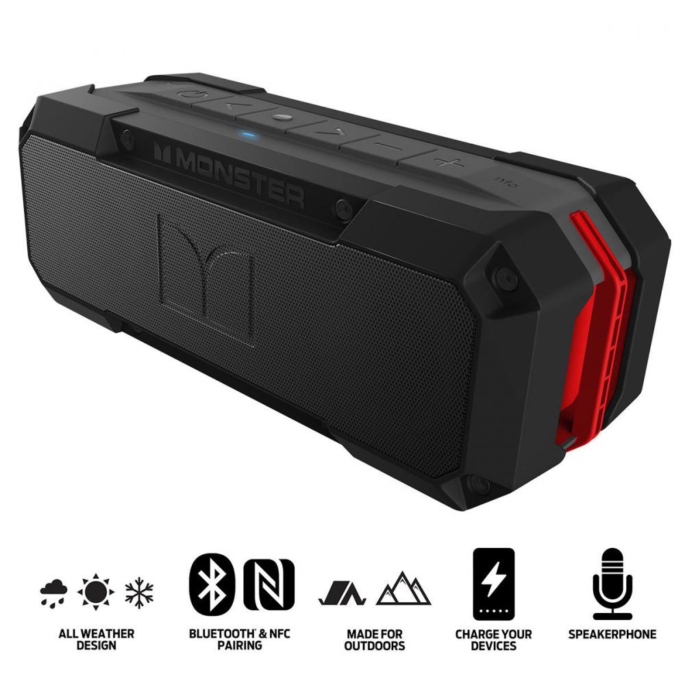Monster Adventurer Weatherproof Bluetooth Speaker £49.99 @ Costco