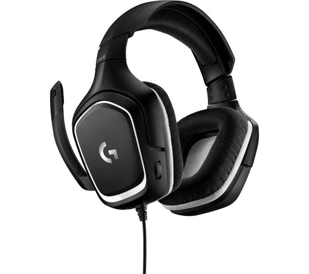 LOGITECH G332 SE Gaming Headset - Black & White £24.99 at Currys