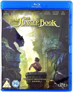 The Jungle Book Blu-ray £3.99 @ Amazon (+£2.99 Non Prime)