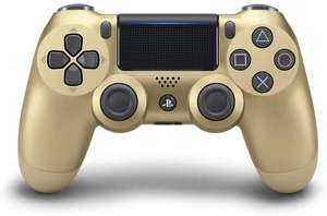 Sony PlayStation DualShock 4 Controller in Gold £34.99 @ Amazon