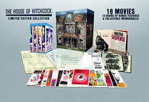 Hitchcock Collection - House of Hitchcock 18 Films on Blu-Ray £62.99 @ Amazon