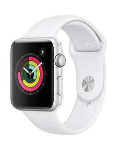 Apple Watch Series 3, 42mm Silver Aluminium Case with White Sport Band (£199 with 6 month BNPL code) £229 @ Very
