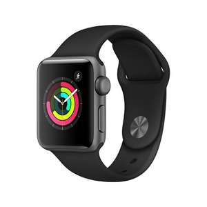 Apple Watch S3 2018 GPS 38mm-Space Grey + 3 years warranty £189 @ Stormfront
