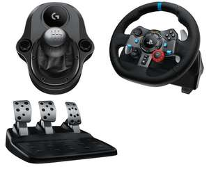 Logitech Driving Force G29/G920 Wheel & Gearstick Shifter Bundle £146 Delivered With Code FREEDELIVERY @ Currys (C&C £150)