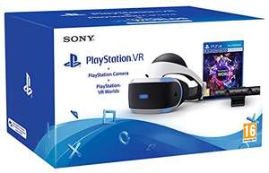 PlayStation VR PSVR Headset + Camera + VR Worlds £134.25 Good Condition from Amazon Warehouse Italy (or £129.43 using fee free card)
