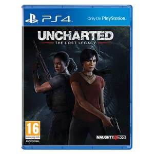 [PS4] Uncharted: The Lost Legacy (Normal Cover) - £10.49 delivered @ Monster Shop