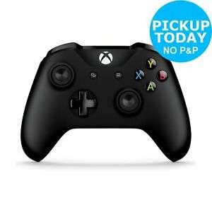 Xbox One Wireless Bluetooth Controller - Black £34.99 @ Argos / ebay (Free Collection)