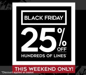 25% off hundreds of lines at H Samuel INSTORE and ONLINE (discount applied in basket)