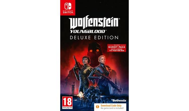 Wolfenstein Youngblood Deluxe Edition Nintendo Switch £16.99 @ Argos