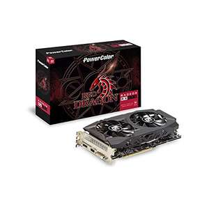 Powercolor Radeon RX 590 Red Dragon 8GB £153.51 (£144.87 with fee free card) @ Amazon Spain