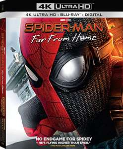 Spider-Man: Far From Home 4K + Blu-ray (Region Free) - £12.02 @ Amazon US