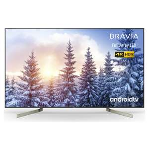 Sony Bravia KD65XF9005 65'' 4K Ultra HD HDR Full Array LED Smart Android TV + 6 Year Warranty £1049 with code @ Richersounds