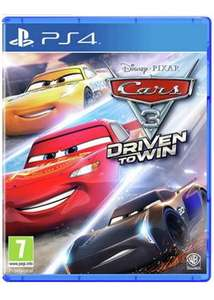 Cars 3 - Driven To Win PS4 £11.85 @ Base