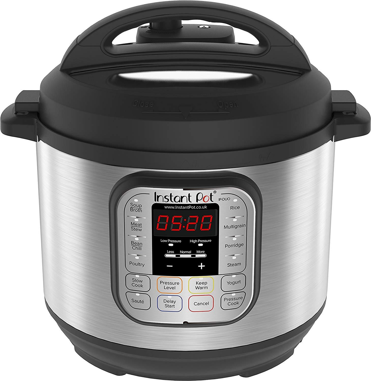 Instant Pot Duo V2 7-in-1 Electric Pressure Cooker, 6 Qt, 5.7L 1000W, 220-240v- £59.99 @ Amazon