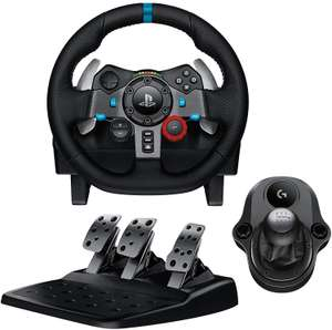 Logitech G920 and G29 Driving Force Racing Wheel & Pedals Plus Gear Shifter Bundle UK-Plug £148.99 @ Amazon