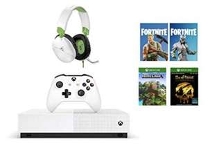Xbox One S All-Digital Edition (Xbox One) + Turtle Beach Recon 70X White Gaming Headset