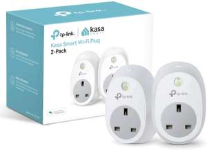 Kasa Smart Plug by TP-Link twin pack £19.98 at amazon (+£4.49 non prime)