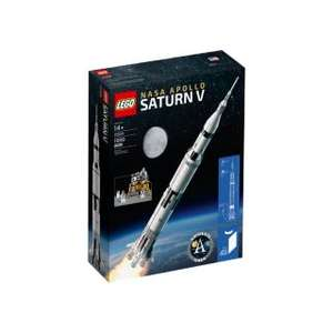 LEGO Ideas 21309 NASA Apollo Saturn V £76.99 @ Lego shop