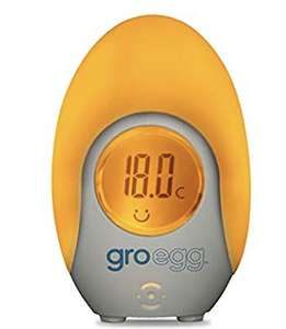 The Gro Company Groegg Colour Changing Room Thermometer £8.49 @ Amazon