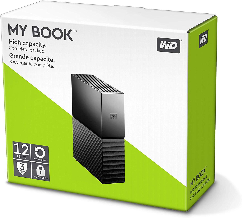WD My Book 12TB - £165.99 Amazon Black Friday