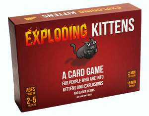 Exploding Kittens Card Game @ Amazon - £12.30 (+£4.49 NP) Delivered @ Amazon