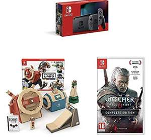 New Switch with Labo Kit and The Witcher 3 £299.99 @ Amazon