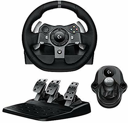 Logitech G920 Driving Force Racing Wheel & Pedals Plus Gear Shifter Bundle (Xbox One & PC) UK-Plug £148.99 @ Amazon
