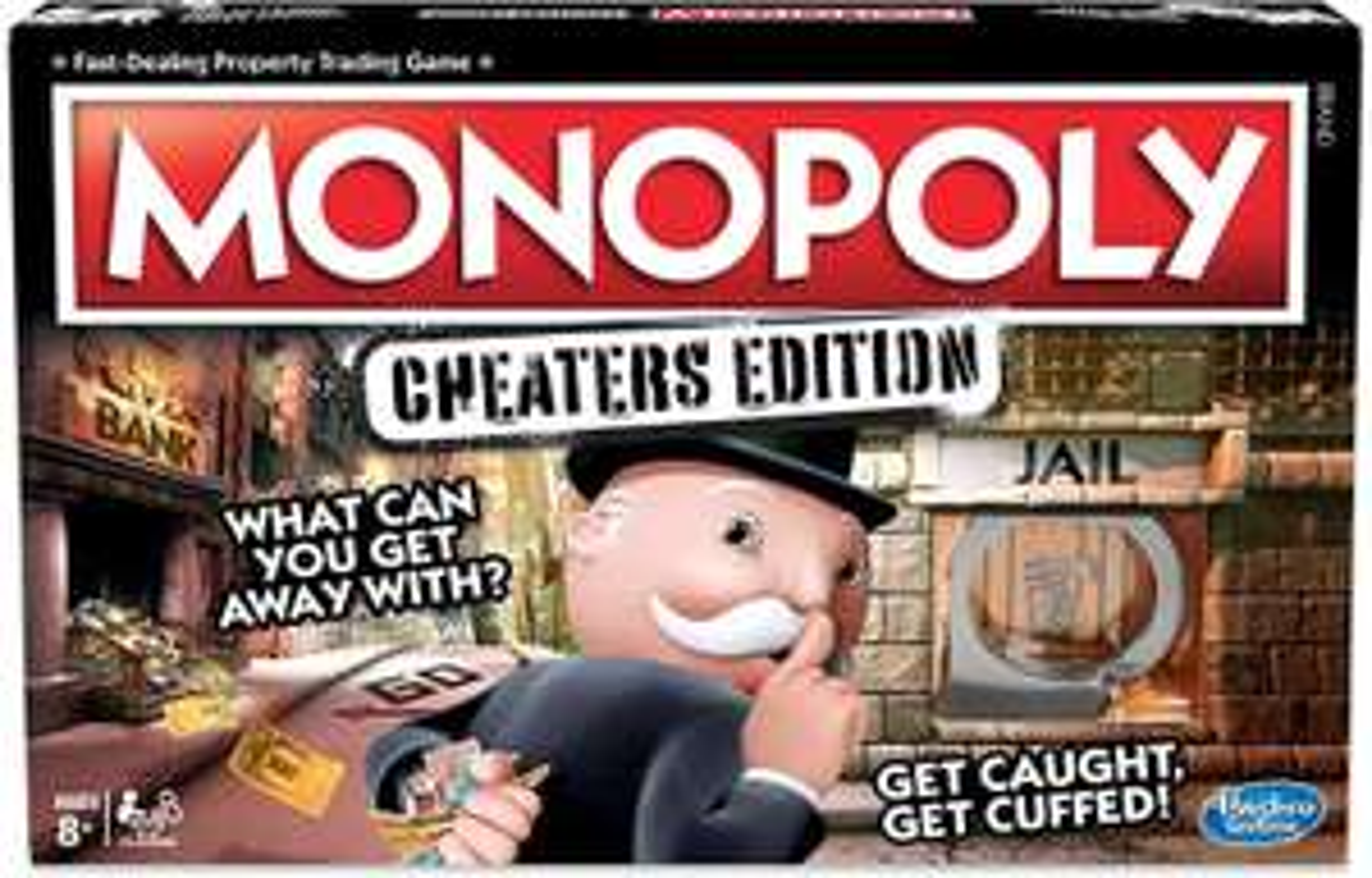 Hasbro monopoly cheaters edition £10 + £4.49 NP @ Amazon