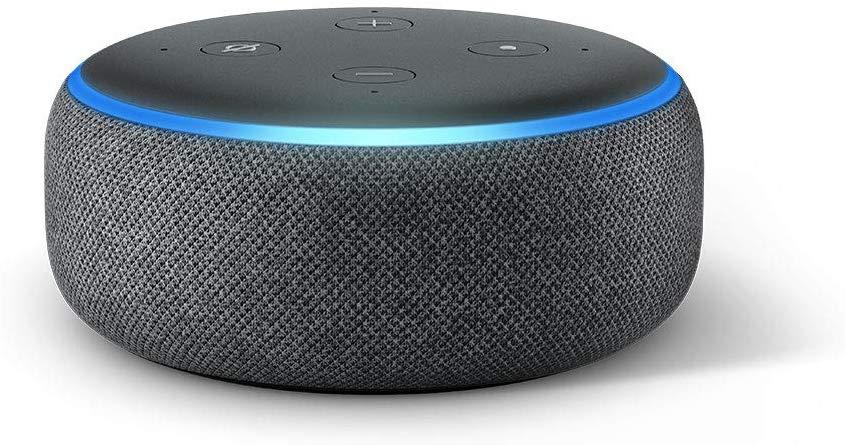 Echo Dot (3rd Gen) - Smart speaker with Alexa - Charcoal Fabric - £22 @ Amazon