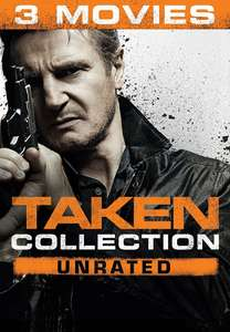 Taken 3 Movie Collection Unrated - HD for £5.99 on Google PlayStore