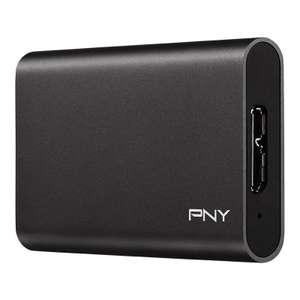 PNY Portable Elite External SSD 240GB from eBuyer