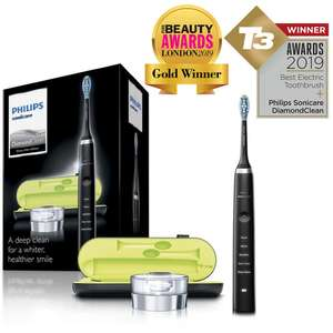 Philips Sonicare DiamondClean Electric Toothbrush in Black/ White/ Pink/ Rose Gold @ Amazon £89.99