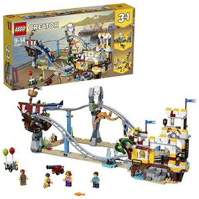 LEGO 31084 Creator 3in1 Pirate Roller Coaster @ Amazon £41.99