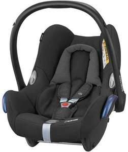 Maxi Cosi CabrioFix Baby Car Seat Group 0+ Isofix, 0-12 Months, Nomad Black, 0-13 kg £80 Amazon