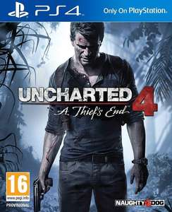 Uncharted 4: A Thief's End - £9.50 delivered @ Coolshop