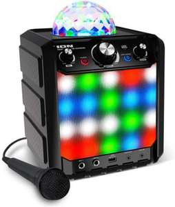 Portable Wireless Bluetooth Speaker with Party Light Display and Microphone £55.99 @ Amazon