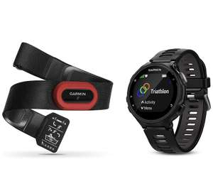 Garmin Forerunner 735XT GPS Running Watch with Heart Rate Monitor - Black or Blue £189.99 @ Amazon