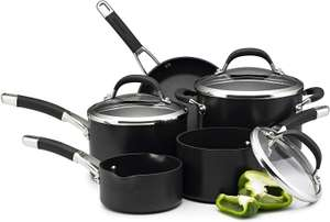 Circulon Premier Professional Saucepan and Frypan Set of 5 – Lifetime Guarantee £89.99 Amazon
