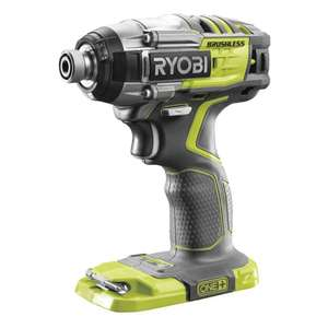 Ryobi R18IDBL-0 18V ONE+ Cordless Brushless Impact Driver (Body Only) - Amazon, £79.99