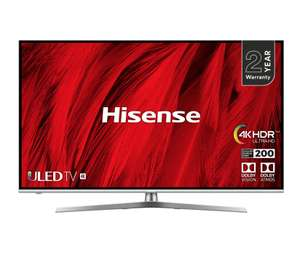 "Hisense H55U8BUK 55"" Smart 4K Ultra HD TV £499 ao.com"