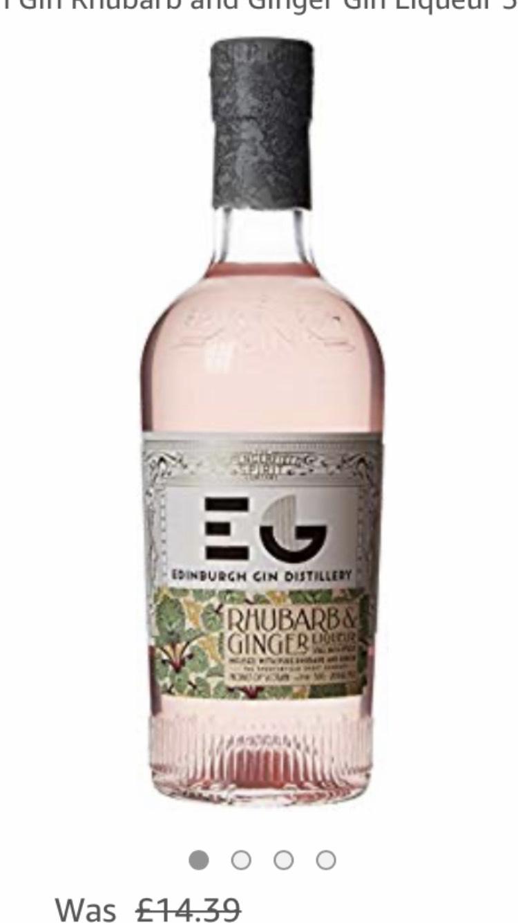 Edinburgh Gin Liqueur Rhubarb and Ginger 50cl £11.99 (Prime) / £16.48 (non Prime) at Amazon