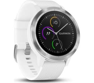 Garmin Vivoactive 3 GPS Smartwatch with Contactless Payment and HR (White or Black) £129.99 @ Amazon