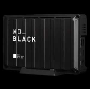 WD_Black 8TB D10 Game Drive 7200rpm with Active Cooling £132.99 - Amazon