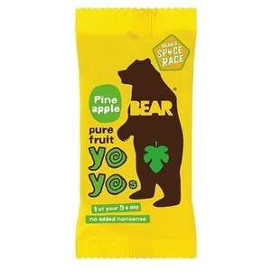 2 x Bear Pineapple Yoyo's for 49p with code (Free C&C) @ Holland & Barrett