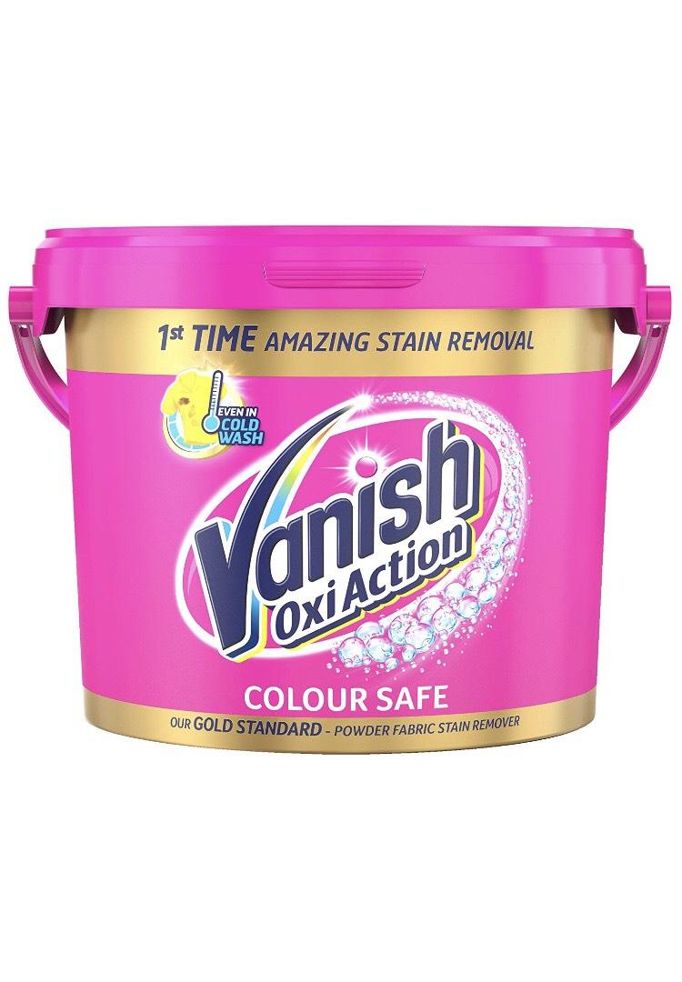 Vanish Oxi Action Fabric Stain Remover Powder 2.4kg £8.99 (+£4.49 Non Prime) @ Amazon
