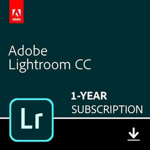 Adobe Lightroom 1-year subscription, with 1TB photo upload PC/Mac/Mobile (No Photoshop) - £69.99 @ Amazon