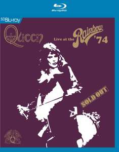 Queen Live at the Rainbow Blu Ray only £4.99 at HMV
